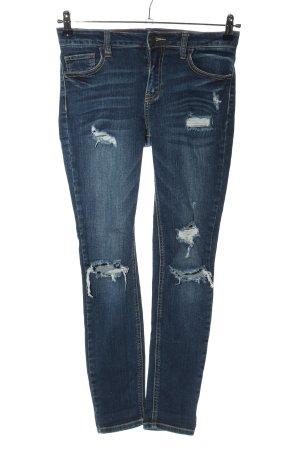 cello jeans Jeans skinny bleu style décontracté