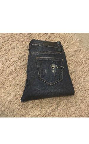 cello jeans Jeans taille basse bleu foncé