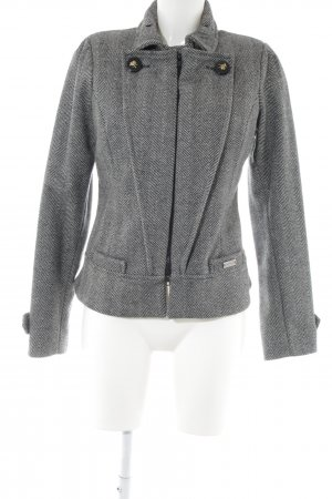 Celyn B. Wool Blazer light grey allover print casual look