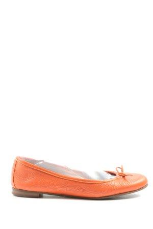 Cenedella Foldable Ballet Flats light orange casual look