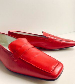 Cenedella Pantofola rosso Pelle