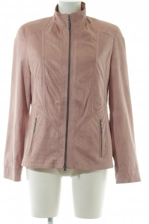 Centigrade Faux Leather Jacket pink casual look