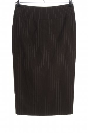 cerruti 1881 Pencil Skirt brown allover print business style
