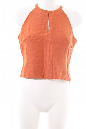 cerruti 1881 Cropped Top light orange casual look