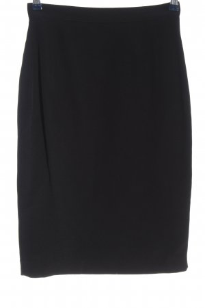 cerruti 1881 High Waist Skirt black business style