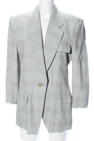 cerruti 1881 Short Blazer green-light grey check pattern business style