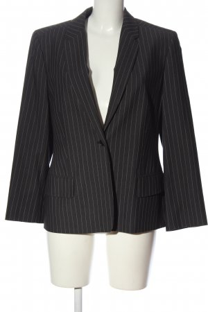 cerruti 1881 Short Blazer black-white allover print business style