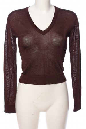 cerruti 1881 Long Sleeve Blouse brown casual look