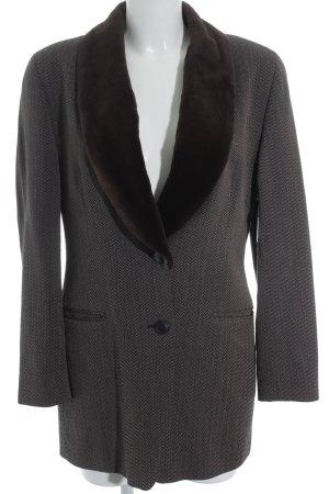 cerruti 1881 Long Blazer weave pattern elegant
