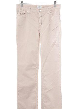 cerruti 1881 Jeansy z prostymi nogawkami beżowy W stylu casual