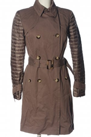 cerruti 1881 Between-Seasons-Coat brown quilting pattern casual look