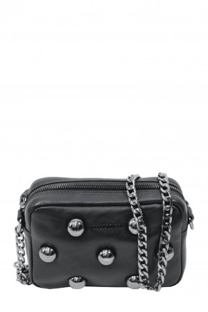 cerruti 1881 Crossbody bag black leather