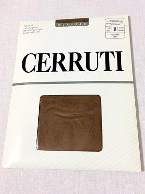 cerruti 1881 Bottom dark brown polyamide