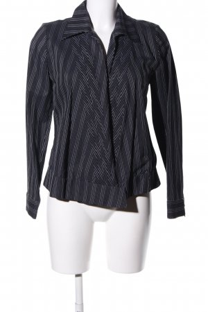 cerruti 1881 Wraparound Blouse black-white allover print casual look