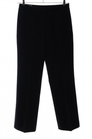 cerruti 1881 Woolen Trousers black casual look