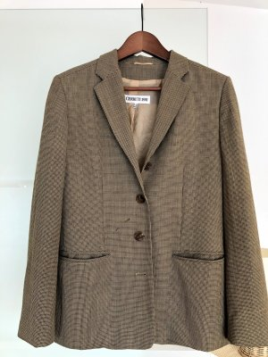 cerruti 1881 Wool Blazer bronze-colored wool