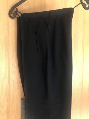 cerruti 1881 Spodnie z zakładkami czarny