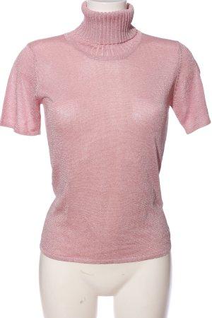 Cerruti Glanzbluse pink Casual-Look