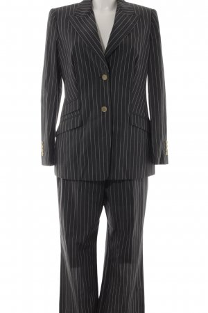 Cerruti Pinstripe Suit dark grey business style