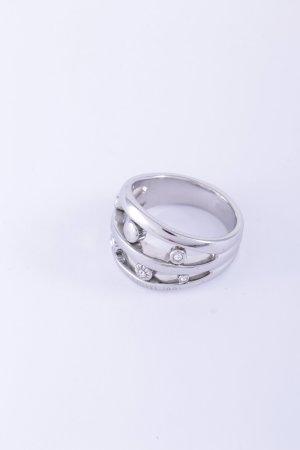 Cerruti Ring silberfarben Glanz-Optik