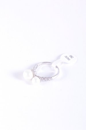 Cerruti Silver Ring silver-colored-white elegant