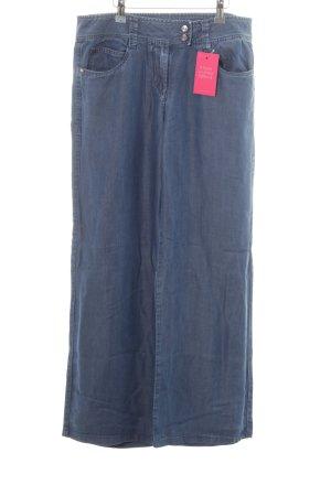 Cerruti Jeans met rechte pijpen blauw casual uitstraling