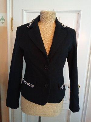 CERRUTTI 1881 Blazer in tweed nero