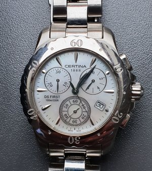 Certina Chronograph DS First