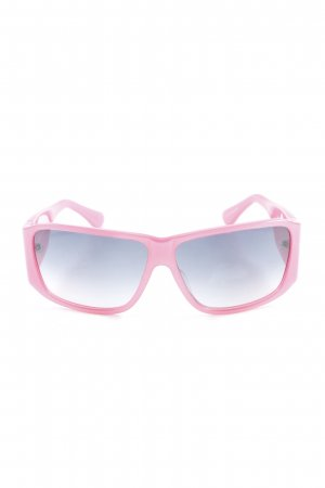 Cesare Paciotti Angular Shaped Sunglasses pink extravagant style