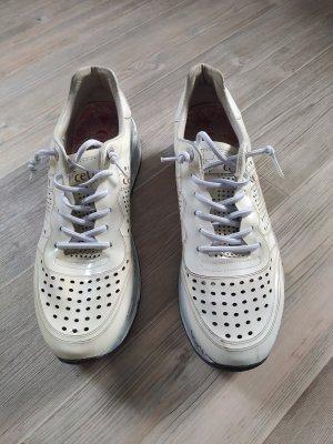 Cetti Lace-Up Sneaker cream