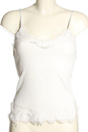 CH Fashion Podkoszulek na ramiączkach biały W stylu casual