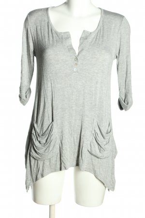 Cha Cha Vente Longsleeve light grey casual look