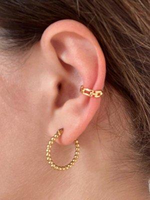 Chain Earcuff gold 14k