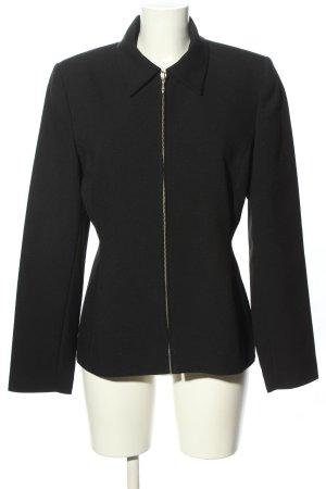 Chaloc Short Jacket black casual look
