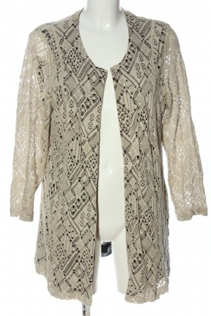 Chalou Cardigan white-black casual look