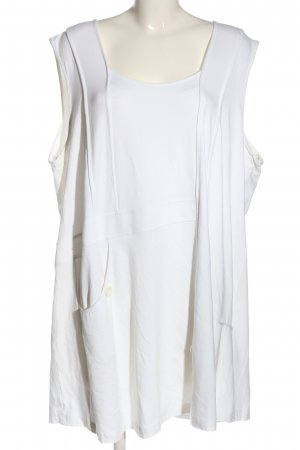 Chalou Long Top white casual look