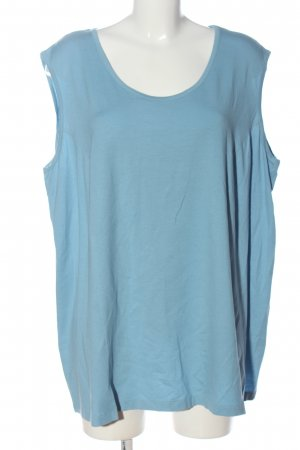 Chalou Strappy Top blue casual look