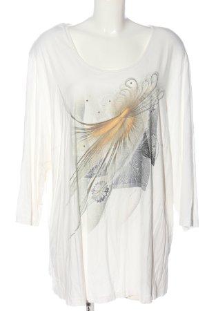 Chalou U-Boot-Shirt Motivdruck Casual-Look