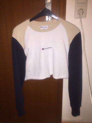 Champion crop hoodie Sweatshirt top pullover pulli