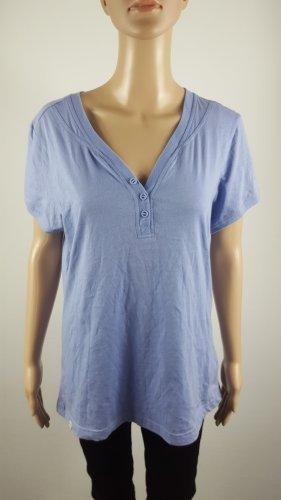 Champion Damen Athletic Sport Shirt Easy Fit T-Shirt hellblau Größe XXL NEU