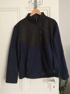 Champion Fleece Jackets black-dark blue