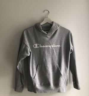 Champion Hooded Sweatshirt light grey-white