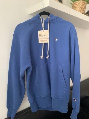 Champion Maglione con cappuccio blu acciaio-blu Cotone