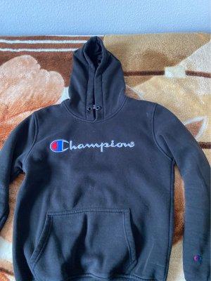Champion Pull à capuche noir