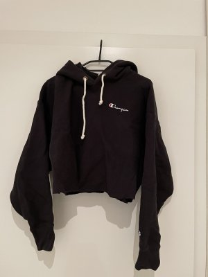Champion Jersey con capucha negro
