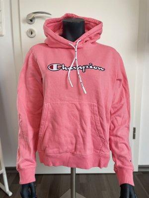 Champion Maglione con cappuccio rosa