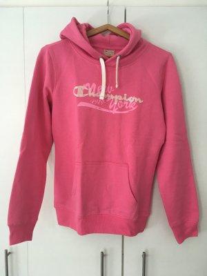 Champion Kapuzen Sweatshirt in pink
