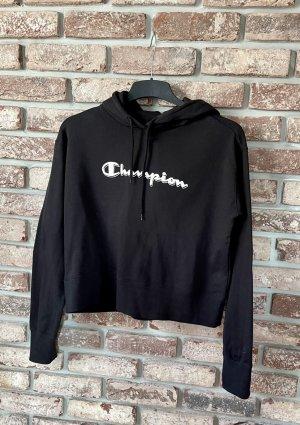 Champion Sweat à capuche noir coton