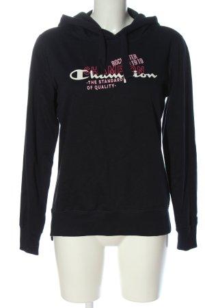 Champion Hooded Sweatshirt printed lettering casual look