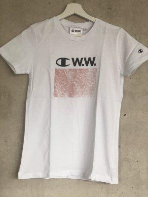 Champion logo shirt weiß